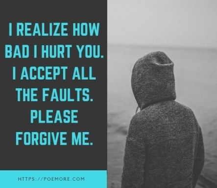My love forgive me poems please All I